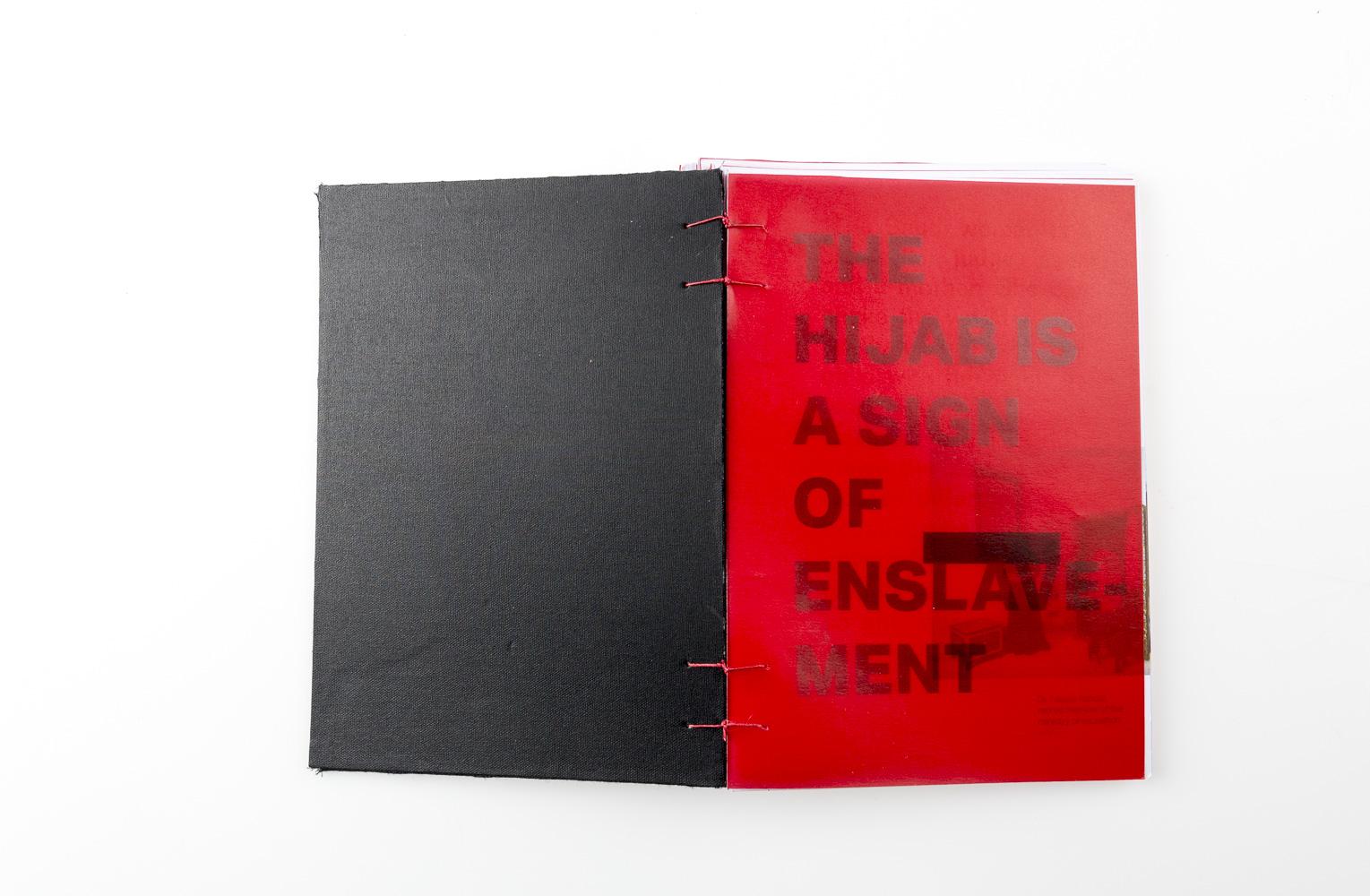 Design Project »Lies Lies«, BookDesign